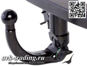 Фаркоп Bosal 048-343 для Hyundai ix35 2010- и Kia Sportage 4x4 2010-, быстросъёмный крюк-автомат AK40/41