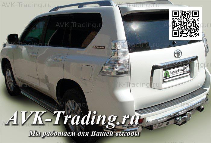 Фаркоп Lexus GX 460 2010-2014 / Toyota Land Cruiser Prado (150) 4x4 2010- (без электрики) BOSAL 3090-FL - фото 9